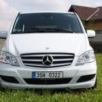 Osobní autodoprava Martin Svoboda Praha 9 – Mercedes Benz Viano CDI 2,2, různé náhledy, nová posila v týmu