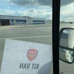 Převoz zavazadel pro tým Arsenal FC
