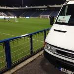 Stěhování Praha 9 – přeprava sportovního materiálu na utkání Liberec – Sevilla