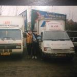 Záčatky v autodopravě rok 2001