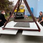 Stěhování robota z firmy ABB Praha - Brno Technické muzeum